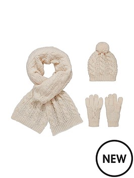 v-by-very-girls-pearl-detail-chunky-knitted-hat-scarf-and-gloves-set-3-piece