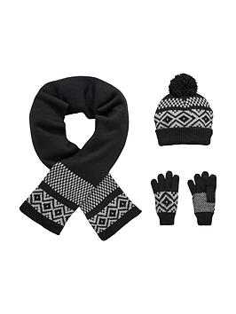 v-by-very-boys-fairisle-knitted-hat-scarf-and-gloves-set-3-piece