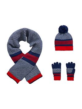 v-by-very-boys-stripe-knitted-hat-scarf-and-gloves-set-3-piece