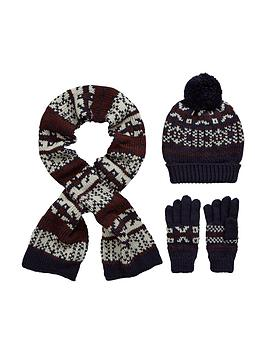 v-by-very-boys-fairislenbspknitted-scarf-beanie-and-gloves-set-3-piece