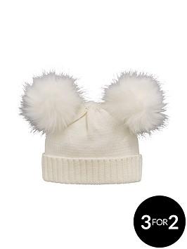 mini-v-by-very-baby-girls-pomnbsppomnbspknitted-hat