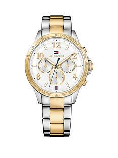 tommy-hilfiger-tommy-hilfiger-silver-dial-bi-colour-bracelet-ladies-chronograph-watch