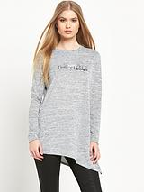 Long Sleeved Asymmetric Tee