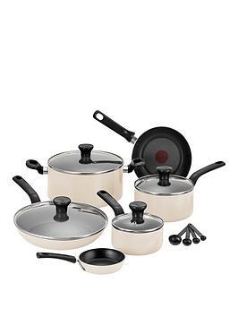 tefal-excite-7-piece-aluminium-pan-set-in-cream