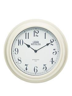 kitchencraft-255cm-wall-clock-cream