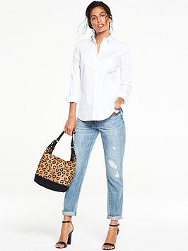 v-by-very-ladder-trim-cotton-shirt