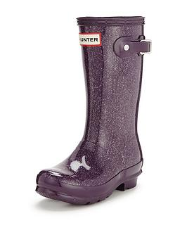 hunter-original-kids-glitter-welly