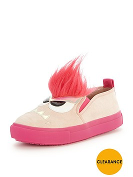 mini-miss-kg-girls-roarsomenbspslip-on-plimsolls