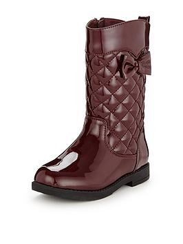 mini-v-by-very-sadie-younger-girls-bow-quilted-boots
