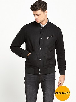 lee-wool-bomber-jacket-black