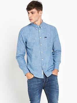 lee-chambray-button-down-shirt-blue-ice