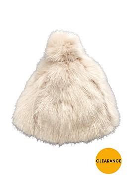v-by-very-faux-fur-pom-pom-beanie