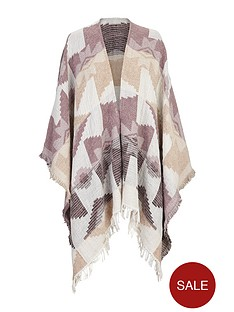 v-by-very-ikat-blur-cape