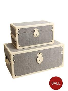 set-of-2-plain-storage-trunks-natural