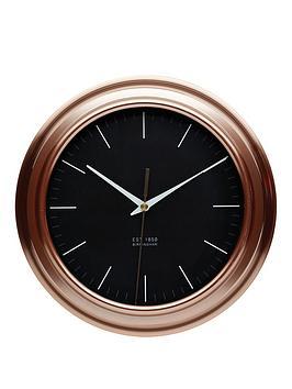 kitchencraft-copper-finish-clock