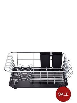 kitchencraft-dish-drainer-with-drip-tray-42x305x15cm