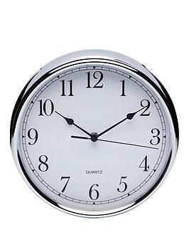 kitchen-craft-stainless-steel-clock--nbsp25cm