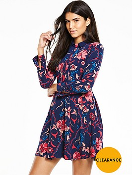 v-by-very-printed-long-sleeve-dress