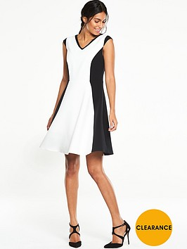 v-by-very-colourblock-skater-dress