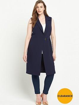 lovedrobe-sleeveless-wrap-front-blazernbsp