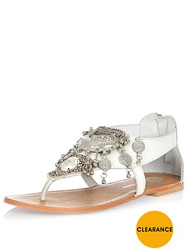 river-island-river-island-embellished-toe-bar-flat-sandal