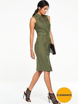 v-by-very-lace-yoke-structured-midi-dress