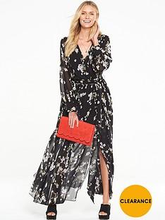 v-by-very-long-sleeve-split-maxi-dress