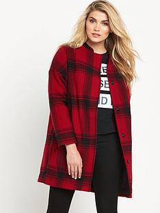 lee-wool-cocoon-check-coat