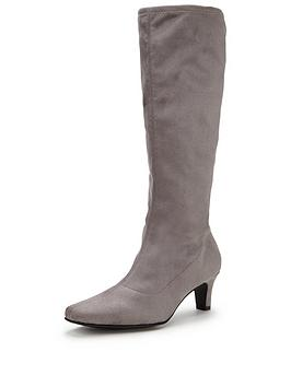 v-by-very-cormacknbspiminbspsuede-stretch-mid-heel-bootnbsp
