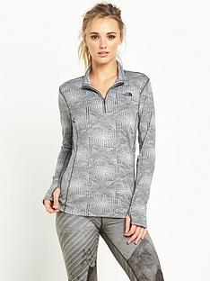 the-north-face-mountain-athletics-motivation-14-zip-grey