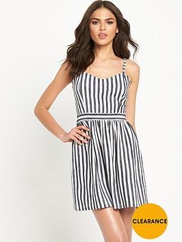 miss-selfridge-stripe-sundress-petite