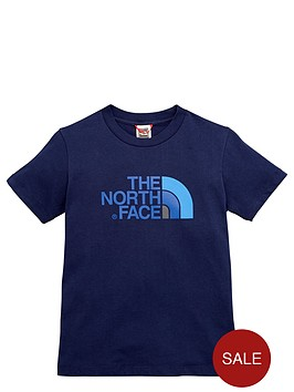 the-north-face-older-boys-easy-t-shirt-navy