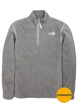 the-north-face-the-north-face-older-boys-glacier-14-zip-fleece