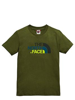 the-north-face-older-boys-easy-t-shirt-green