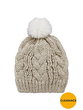 v-by-very-girls-sparkle-knit-pom-pom-beanie
