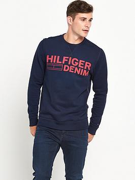 hilfiger-denim-large-logo-crew-sweat