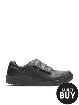 clarks-junior-boys-flare-litenbspstrap-school-shoesbr-br-width-sizes-available