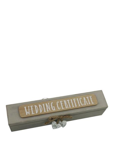 wedding-certificate-holder