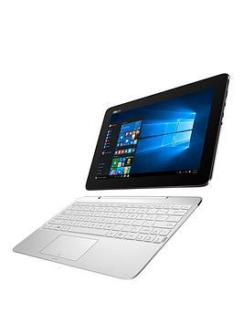 asus-t100-ha-fu004t-intelreg-atomregnbspprocessornbsp2gb-ramnbsp32gb-storagenbsp10-inchnbsptouchscreen-2-in-1nbsplaptop-with-microsoft-office-personal-365-white