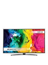 55UH661V 55 inch, 4K, Ultra HD,HDR, Smart LED TV with Metallic Design - Black