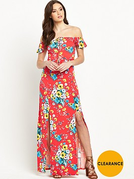 v-by-very-petite-split-front-jersey-maxi-dress