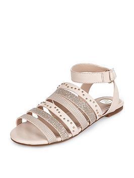 river-island-girls-multinbspstrap-embellished-flat-sandals