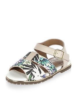 river-island-mini-girls-floral-print-sandals