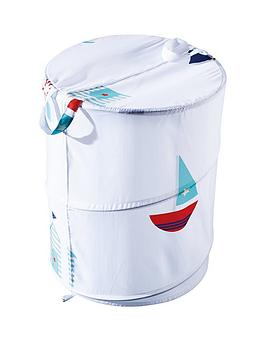 aqualona-beach-hut-pop-up-laundry-bin