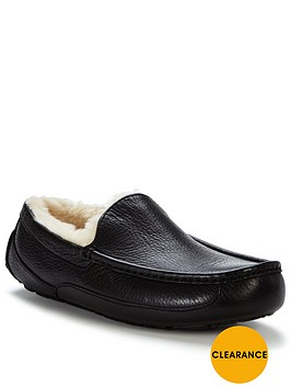 ugg-ascot-leather-slippers