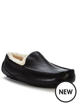 ugg-australia-ascot-leather-slippers