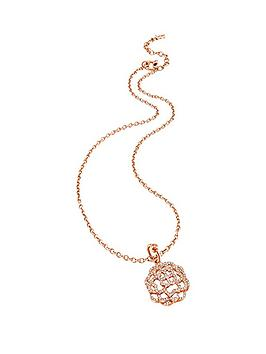 folli-follie-santorini-flower-rose-gold-plated-crystal-set-pendant