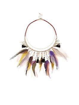 river-island-feather-detail-necklace