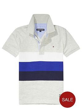 tommy-hilfiger-boys-jersey-stripe-grey-polo