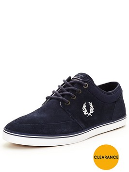 fred-perry-fred-perry-stratford-suede-plimsoll-carbon-blue